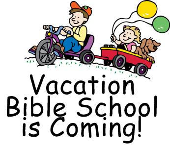 Vacation Bible School is Coming!